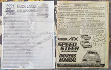 AFX Speed Steer Enduro set 5921layout diagram and drivers manual