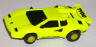 Tyco factory painted yellow Lamborghini Countach