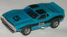 Javelin trans-am, blue with black #5 on hood