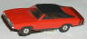 Aurora T-Jet slot car Dodge Charger in red
