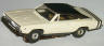 Aurora T-Jet slot car Dodge Charger in white