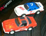 Tomy T-bird and Firebird, left side view