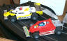 Tyco Magnum 440 Pro Racing set Renault and Ferrari F1 cars