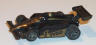 Tyco Indy mail-in car, black with gold #1