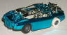 Tyco Doomsday Duel car, candy blue
