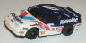 Tyco Ford Thunderbird stock car in blue with white and red, #6