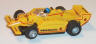 Tyco Indy Pennzoil Chaparral, yellow with red #4